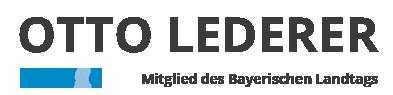 Otto Lederer - Landtagsabgeordneter Rosenheim-West